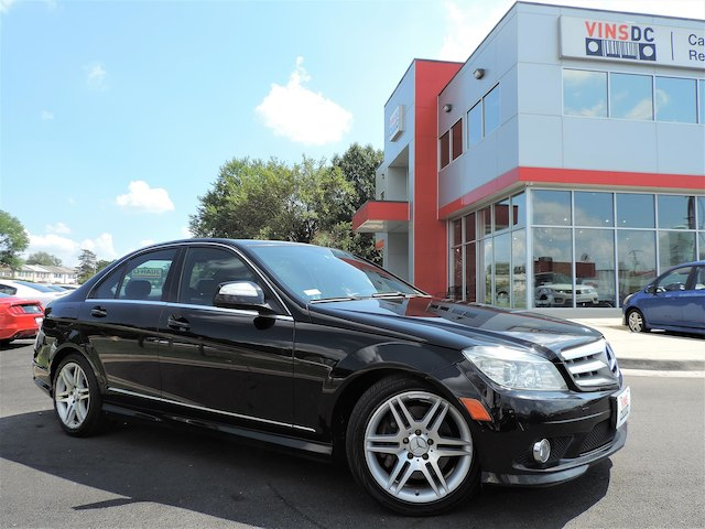 Pre Owned 2008 Mercedes Benz C350 SPORT AMG PACKAGE